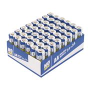 No Nonsense Alkaline Batteries AA Pack of 24 with 24 Extra Free