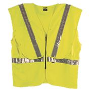 "Fhoss Contego Illuminated Hi-Vis Vest Yellow Small / Medium 38-42"" Chest"