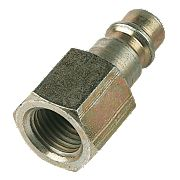 """Female Universal Connector ¼"""" BSP Pack of 5"""
