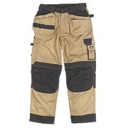 "Site Mastiff Trousers Stone 40"" W 32"" L"