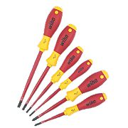 Wiha SoftFinish VDE Slimfix Screwdriver Set 6 Pieces