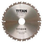 Titan TCT Circular Saw Blade 24T 184 x 16/20/30mm