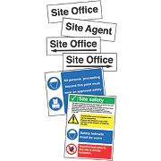 Site Safety & Navigation Signs Start Up Pack