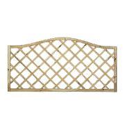 Forest Hamburg Open-Lattice Fence Panels 1.8 x 0.9m Pack of 7