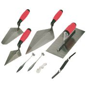 Soft Handled Trowel Set 6Pc