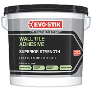 Evo-Stik Superior Strength Wall Tile Adhesive Grey 10Ltr