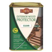 Liberon Exterior Wood Protector Clear 1Ltr