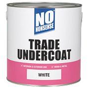 No Nonsense Trade Undercoat White 2.5Ltr