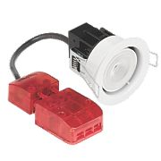 Aurora Fire Rated Fixed LED Downlight IP65 White 4.9W