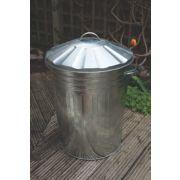 Apollo Galvanised Steel Dustbin