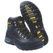 Cat Dynamite Safety Boots Black Size 9