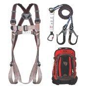 JSP Pioneer Twin Tail Fall Arrest Kit with 2m Lanyard