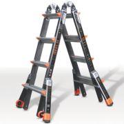 Little Giant Multipurpose Fibreglass Ladder 2-Section 4 Rungs 4.17m