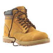 Site Rock Safety Boots Honey Size 12