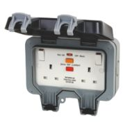 BG Nexus 13A 2G RCD Switched Socket