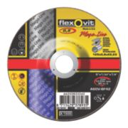 Flexovit Ultra Thin Metal Cutting Discs 125 x 0.8 x 22.23mm Bore Pack of 5