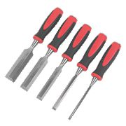 Forge Steel Wood Chisel Set 5Pcs