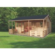 Sherwood Log Cabin 5.9 x 5.3 x 3m