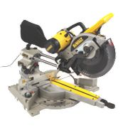 DeWalt DW717XPS-GB Revolutionary XPS System 250mm Sliding Mitre Saw 240V