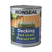 Ronseal Decking End Grain Preserver Green 750Ltr