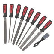 Forge Steel File & Rasp Set 8