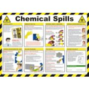 Chemical Spills Poster 420 x 594mm