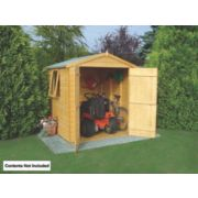 Shire Shiplap Apex Shed 6' x 6' (Nominal)