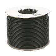 Labgear RG6 Satellite Coaxial Cable 100m Black