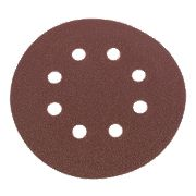 Flexovit Sanding Discs Punched 115mm 80 Grit Pack of 6