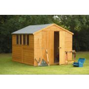 Larchlap 8' x 10' (Nominal) Apex Shiplap Workshop