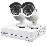 Swann SWNVK-472852 4-Channel 1080p HD NVR CCTV Kit with 2 Cameras