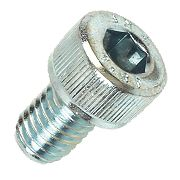 BZP Cap Head Socket Screws M8 x 12mm Pack of 50