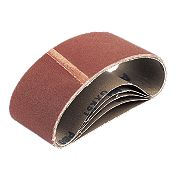 Cloth Sanding Belts 75 x 457mm 80 Grit Pack of 5