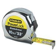 Stanley Powerlock Tape Measure 10m x 25mm / 33