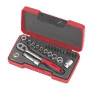 "Teng Tools ¼"" Drive Socket Set 36Pcs"