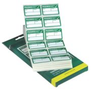 Kewtech Pass Labels Pack of 500