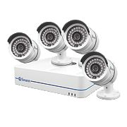 Swann SWNVK-870854T 8-Channel 720P HD NVR CCTV Kit with 4 Cameras