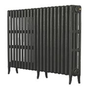 Arroll Neo Classic 4-Column Cast Iron Radiator Pewter 760 x 1080mm