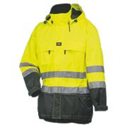 "Helly Hansen Potsdam Hi-Vis Shell Jacket Yellow/Charcoal Medium 39"" Chest"