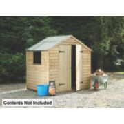 Forest 7' x 5' (Nominal) Apex Pressure Treated Apex Shed