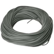PVC Sleeving 3mm x 100m Grey