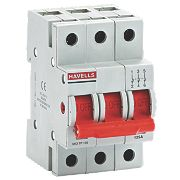 Havells 125A Triple-Pole SW Disconnector Incomer