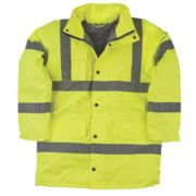 Hi-Vis Padded Jacket Yellow X Large 47