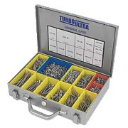 Turbo Ultra Woodscrews General Trade Case Double Self-Countersunk Pack of 1400