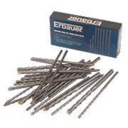 Erbauer Masonry Drill Bit Trade Pack 45Pcs