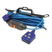 Masterplug Heavy Duty Extension Lead + RCD 1G 240V 15m