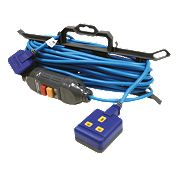 Masterplug Heavy Duty Extension Lead + RCD 1G 240V 15m