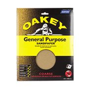 Oakey General Purpose Glass Paper Coarse Pack of 5