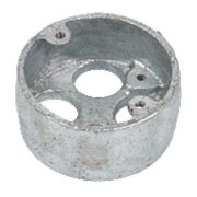 4-Hole 20mm Galvanised Loop In Conduit Box