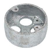 4-Hole 20mm Galvanised Loop In Conduit Box